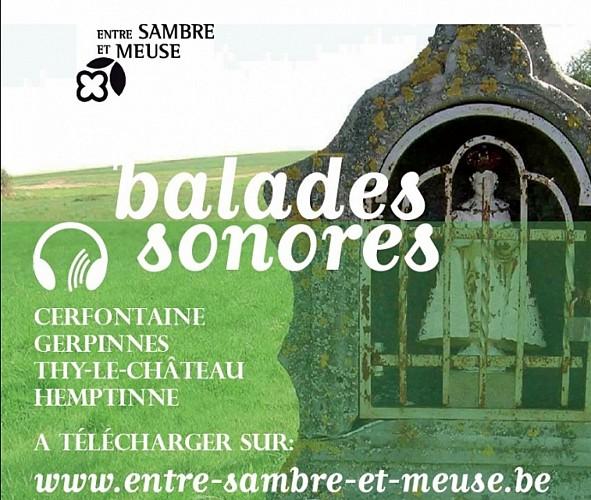 Balade sonore à télécharger. Thy-le-Château, entre métallurgie et agriculture.