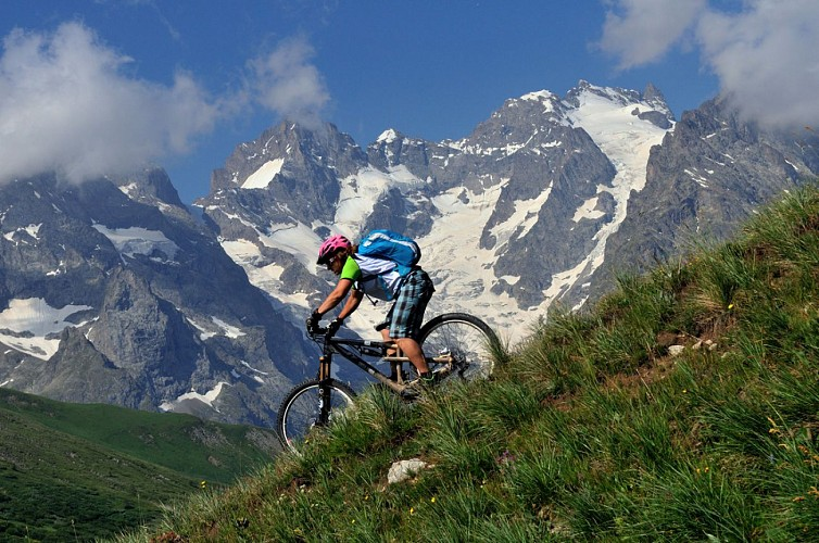Descent from the Col du Galibier
