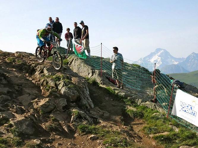 La descente marathon de l'Alpe d'Huez (n°26 VTT)