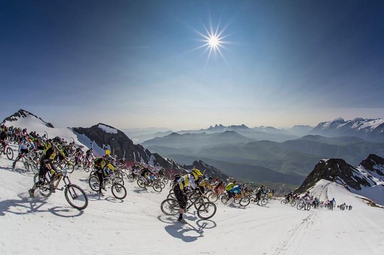 La descente marathon de l'Alpe d'Huez