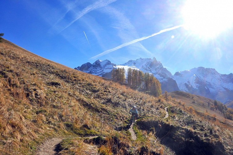 La descente de Puy Golèfre