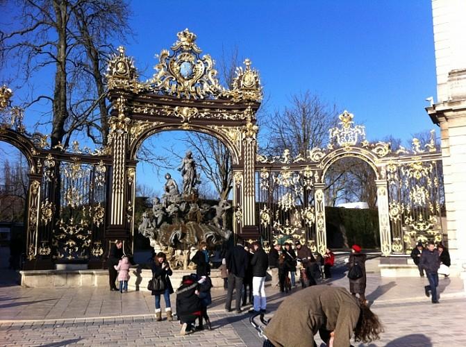 Place Stanislas et balade à la Pépinière de Nancy