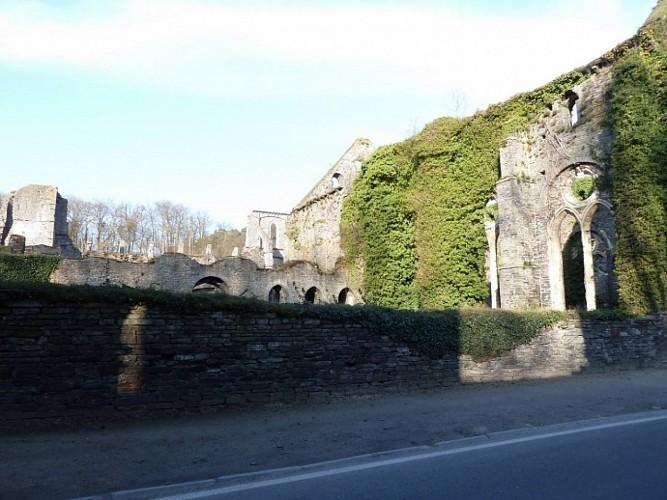 Autour de l'abbaye de Villers la Ville