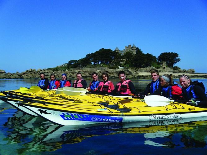 Rando kayak à Perros-Guirec