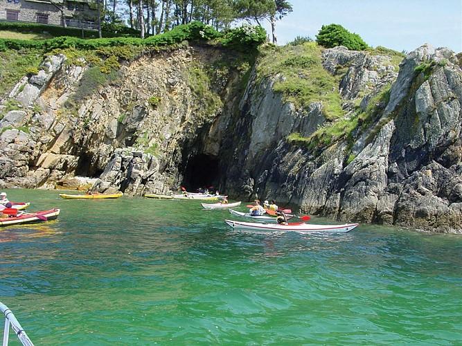 Kayak au pays des rias à Moëlan sur Mer