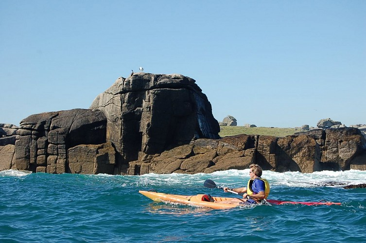 Kayak et Nature aux abords de l'île d'Yoc'h