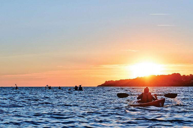 Balade nature au coucher du soleil sur le Golfe du Morbihan