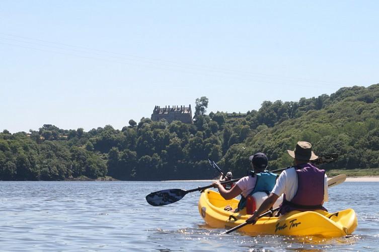 Entre terre et mer, le Trieux en Kayak