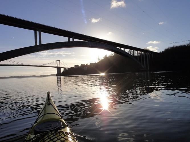 Balade kayak sur la Rance