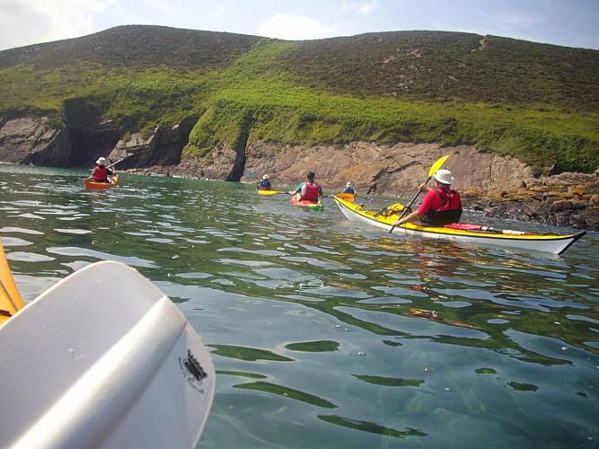 Kayak autour des caps d'Erquy ou Fréhel