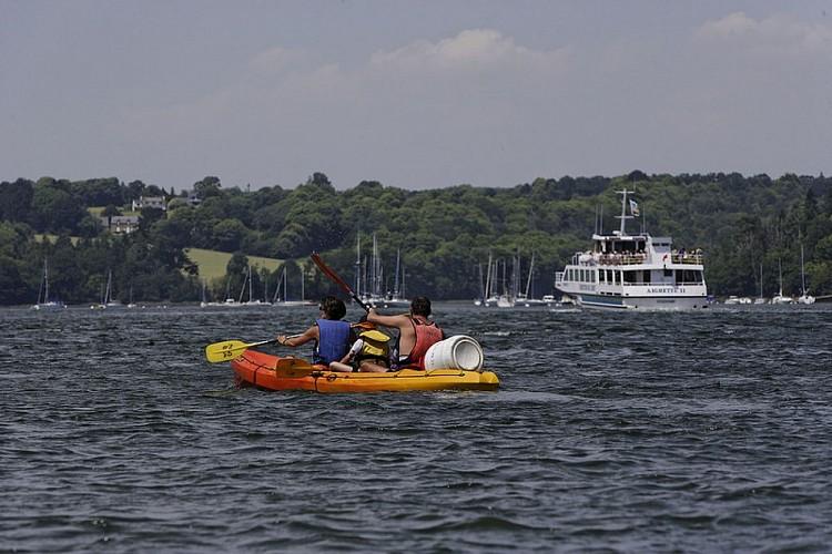 L'Odet en Kayak ou stand up paddle