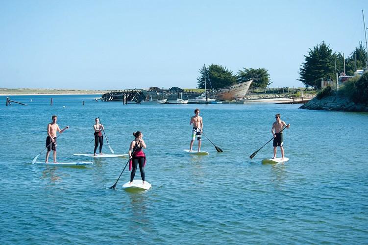 Stand up paddle en Morbihan