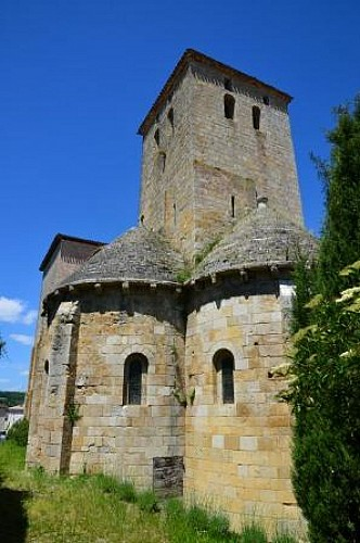 Du Prieuré de Moirax à l'église Sainte-Marie d'Aubiac