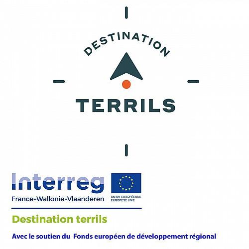 Découverte de 4 terrils du bassin minier de Charleroi entre Dampremy et Marchienne-au-Pont