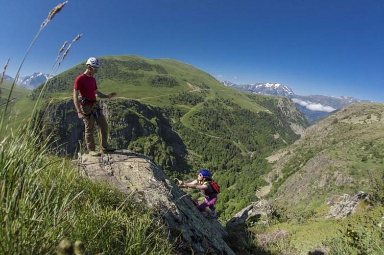Via Ferrata de l'Alpe d'Huez, site de Pierre Ronde