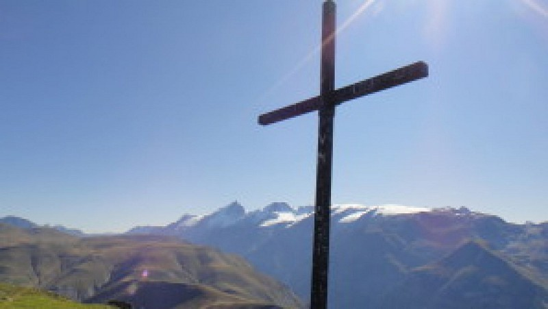 La Croix de cassini (depuis le col de Sarenne)