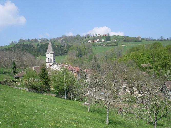 Circuit pédestre : Les deux villages de Saint Aupre