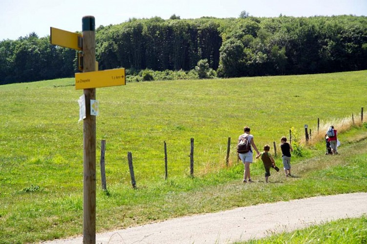 Rando pédestre : Les deux villages de St Aupre