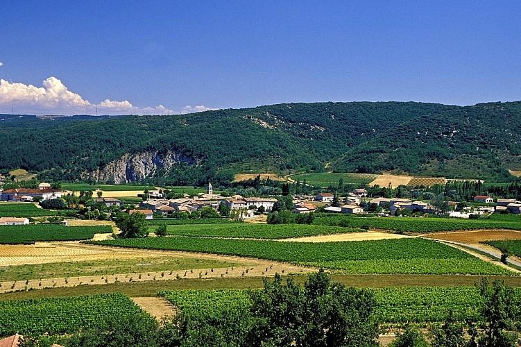 Valvignères : La boucle des Biaux et d'Intras