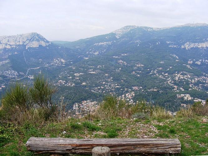 Sentier des crêtes du Mont Faron