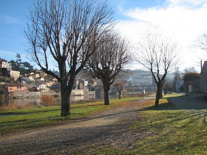 Boucle de Saint-Just Saint-Rambert à Saint-Cyprien