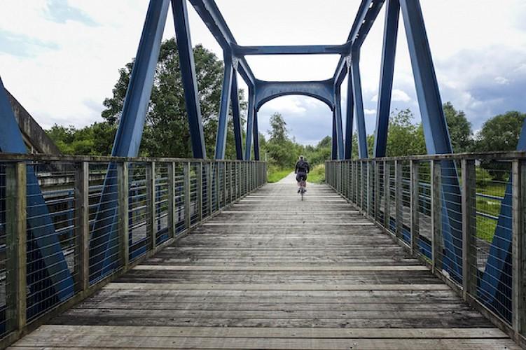 Hicycle Tour - Etape 2 - Auberge de Tournai - Auberge de Mons