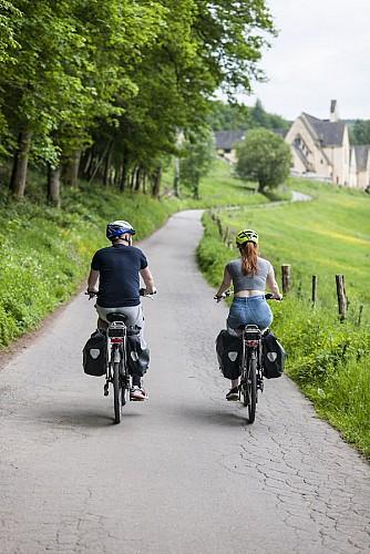 Hicycle Tour - Etape 6 (partie 1) - Auberge de Bouillon - Libramont