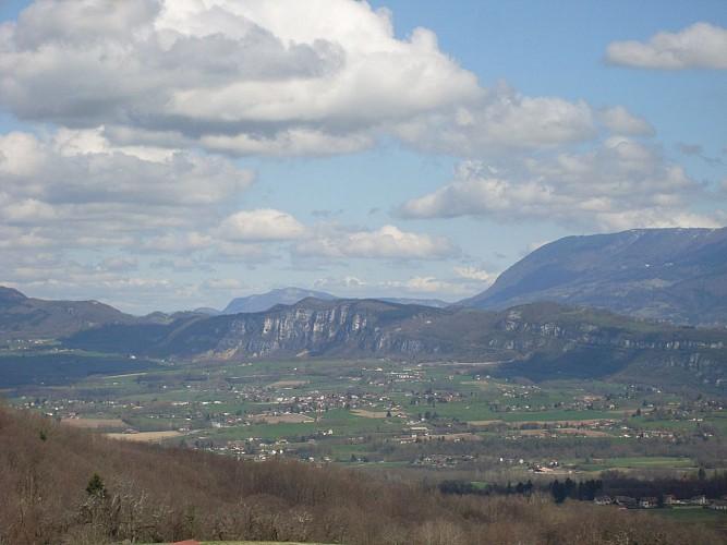 Paysage Valdaine village Velanne