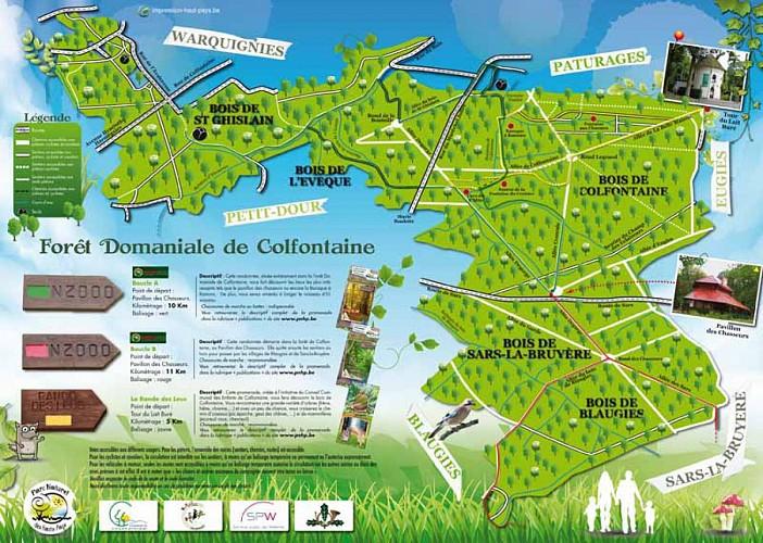 Promenade Natura 2000 Frameries-Colfontaine-Dour : Boucle A