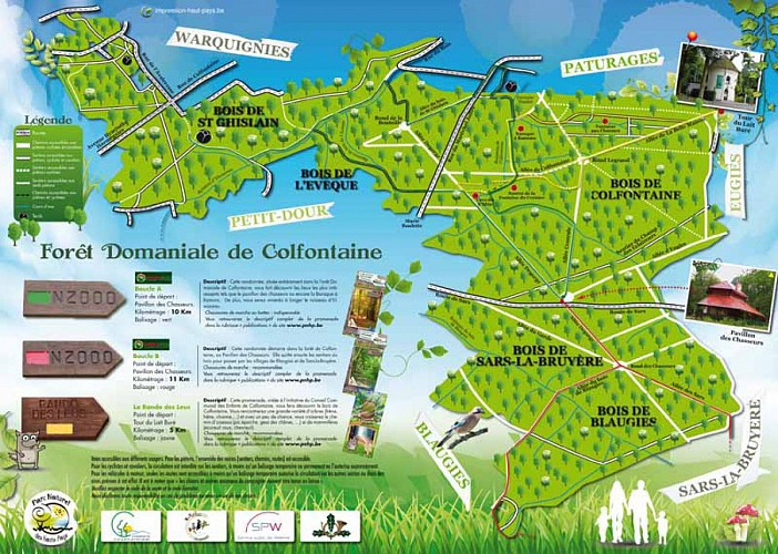 Promenade Natura 2000 Frameries-Colfontaine-Dour : Boucle A