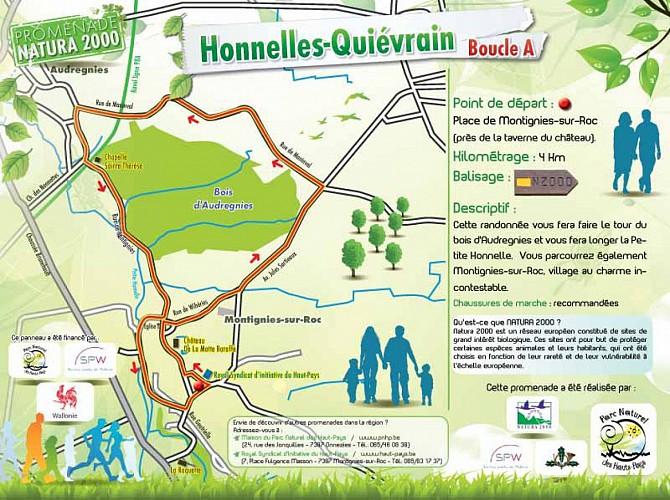 Promenade Natura 2000 Honnelles - Quièvrain : Boucle A