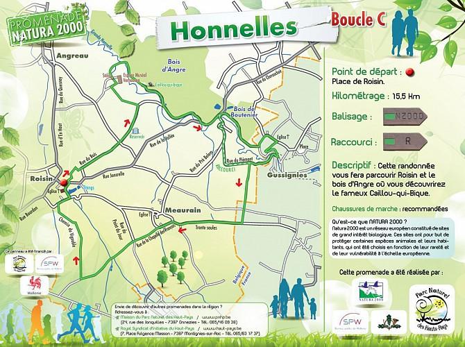 Promenade Natura 2000 Honnelles Boucle C