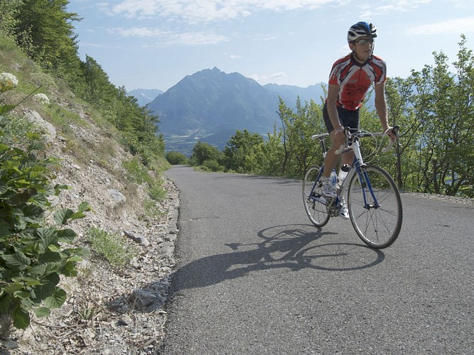 Itinéraire cyclo dans le Champsaur