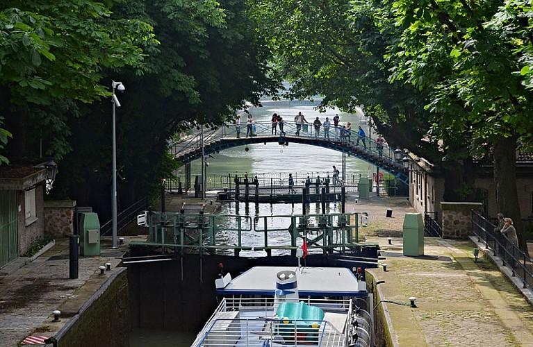 Croisière du canal Saint Martin