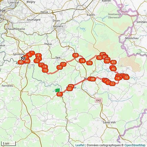 Carte - Balades Vélos-Trains & Paysages - La Vecquée