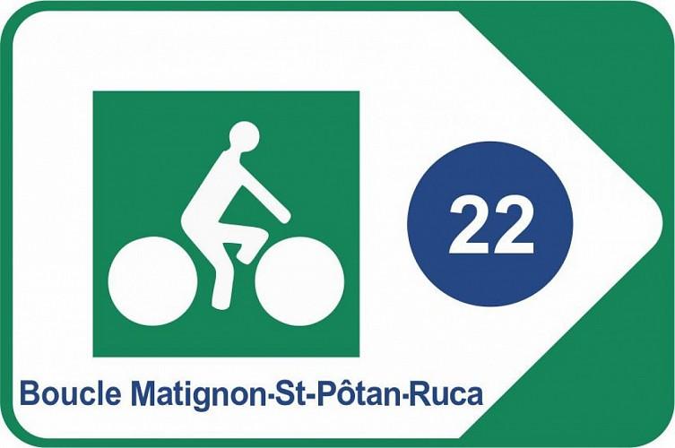 Boucle Matignon - Saint-Pôtan - Ruca