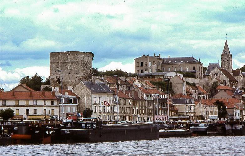 La batellerie à Conflans- Sainte-honorine