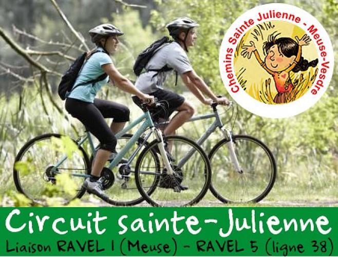 Vélo - Sources et méandres du ruisseau Sainte-Julienne (Visé Meuse - Fléron Ligne 38)