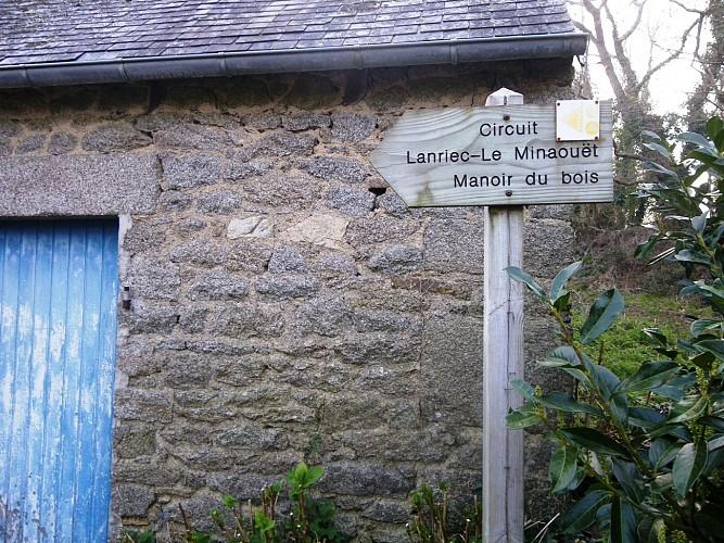 Circuit Lanriec - Le Minaouët - Manoir du bois