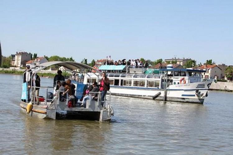 Liaisons fluviales au festival de l'Oh !