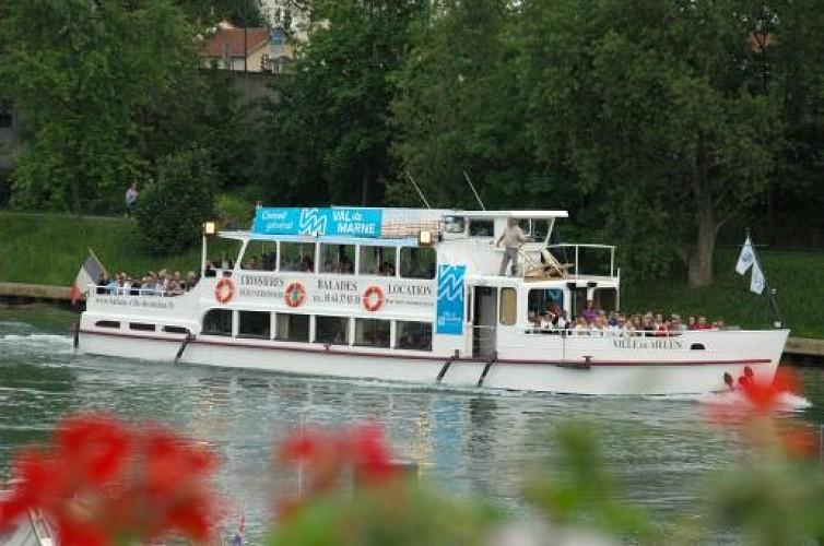 Balades en bateau au festival de l'Oh !
