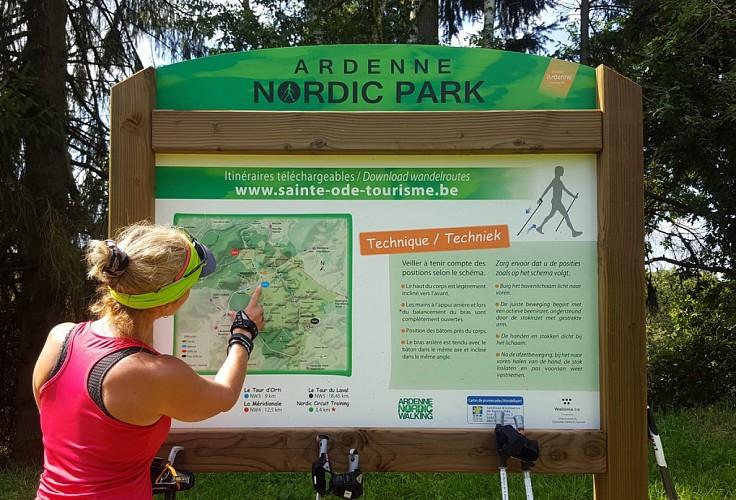 Marche nordique NW3 - Le Tour d'Orti