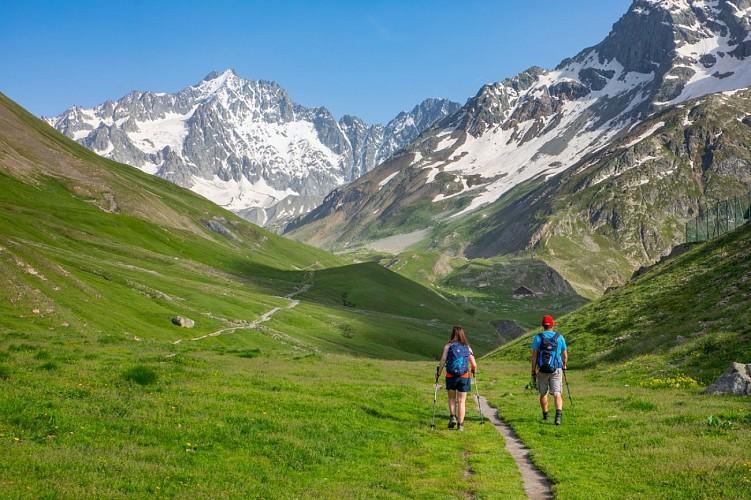 Randonnée : l'Alpe de Villar d'Arène