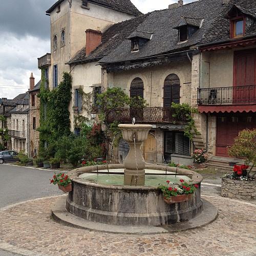 Fountains, walk n°4