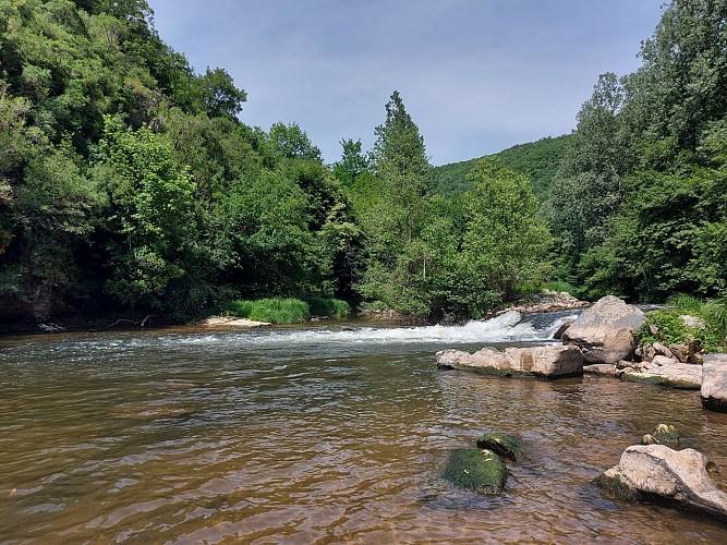 Les Moulins, circuit n°5 autour de Najac