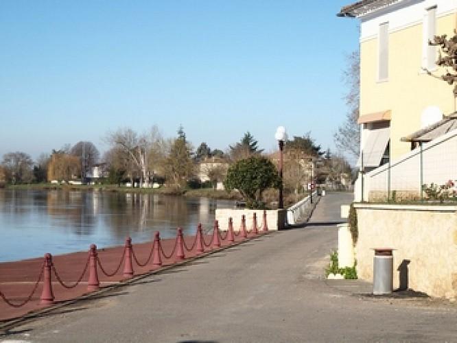 """""""Entre vignes et Dordogne"""" à Saint Emilion"""