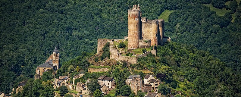 The medieval village of Najac
