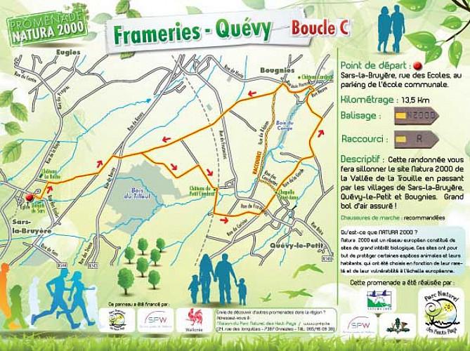 Promenade Natura 2000 Frameries-Quévy / Boucle C