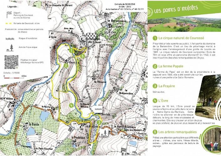 Randonnée Une autre Loire : Courossée géverise à La Chapelle-st-Florent