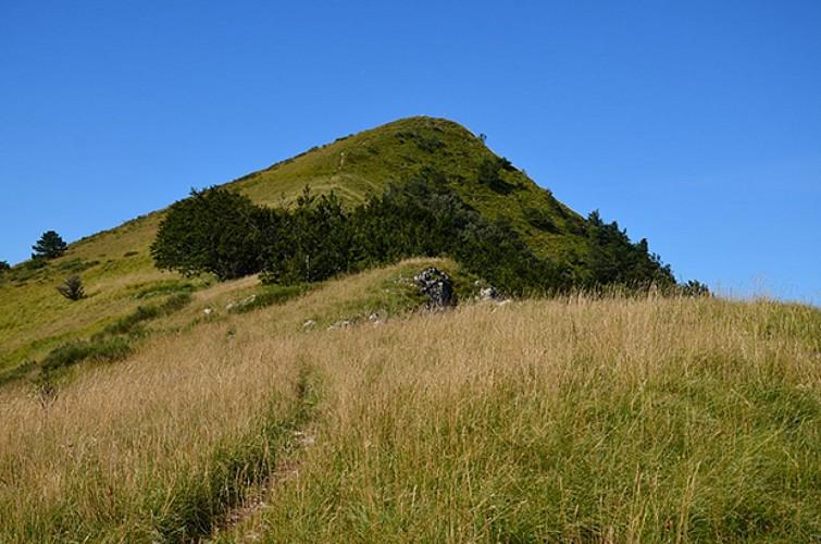 Le Bec Pointu par le Col de la Croix